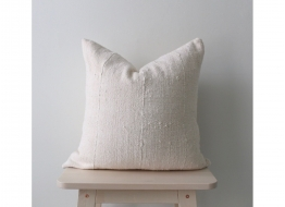 Dama White Cushion Cover 45cm x 45cm