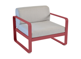 Bellevie Armchair with Flannel Grey Cushions