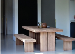 Double Dining Table