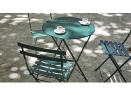 Bistro Metal Folding Table